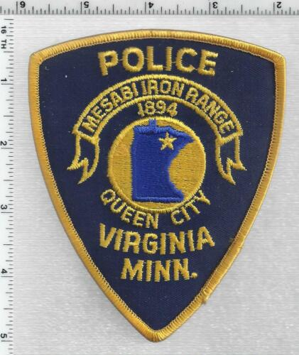 Virginia Police (Minnesota) 2nd Issue Shoulder Patch
