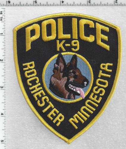Rochester Police K-9 (Minnesota) 1st Issue Shoulder Patch