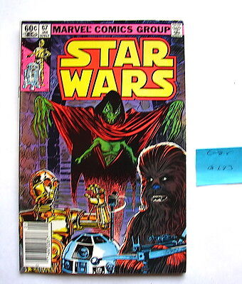 Star Wars comic book Marvel issue #67  c-8  1 / 83  70's 80's vintage  117