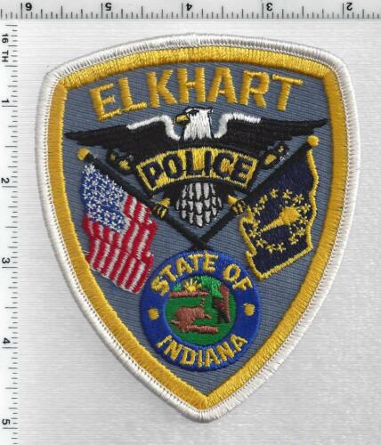 Elkhart Police (Indiana) 2nd Issue Shoulder Patch