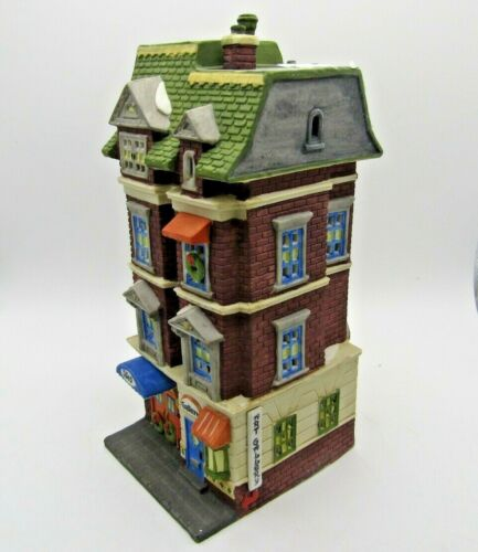 Dept 56 5609 Park Avenue Townhouse 5978-1 Christmas In The City Heritage Village