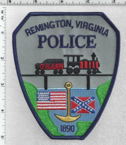 Remington Police (Virginia) 4th Issue Shoulder Patch