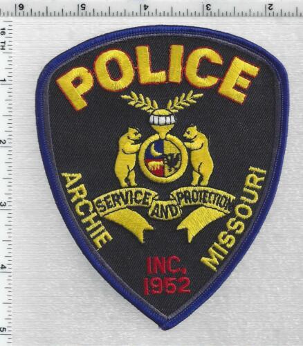 Archie Police (Missouri) 2nd Issue Shoulder Patch