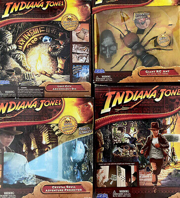 Indiana Jones UNCLE MILTON Archaeology Adventures FULL SET Nature Explorations