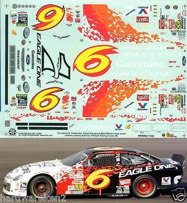 NASCAR DECAL # 6 EAGLE ONE 1999 FORD TAURUS MARK MARTIN SLIXX