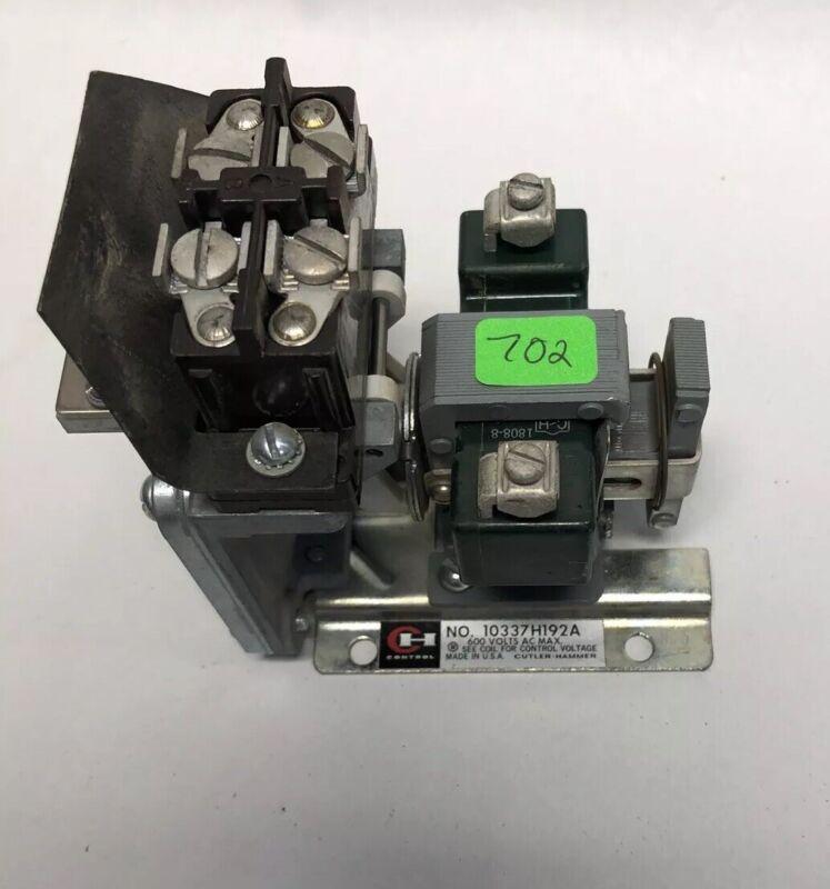 Cutler Hammer Pneumatic Timer 10337H192A 600 V