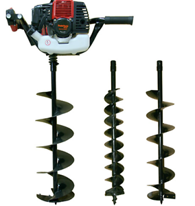 TradeTools PETROL POST HOLE AUGER EARTH 100MM 150MM & 200MM BITS Kingston Logan Area Preview