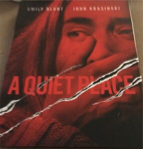 A quiet place blu-ray steel-book opened