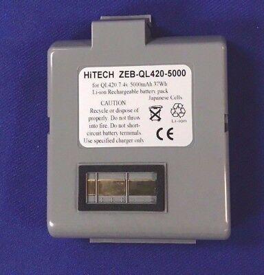 20 Batteriesjapan Li 5000mahfor Zebra Pn.at16293-1 Printers Ql420 Ql420...