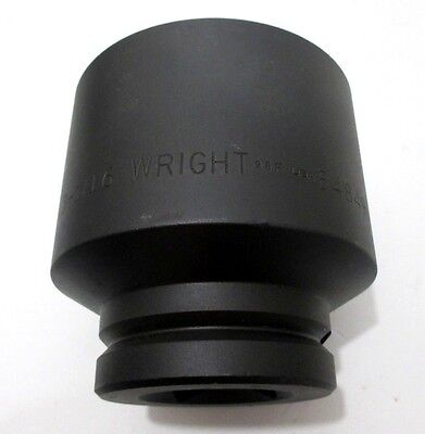Wright Tool 84849 3-116 Impact Socket 1-12 Drive 6 Point Hex New Made In Usa