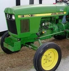 John Deere 950 Backhoe Loader Tractor | John Deere Backhoe