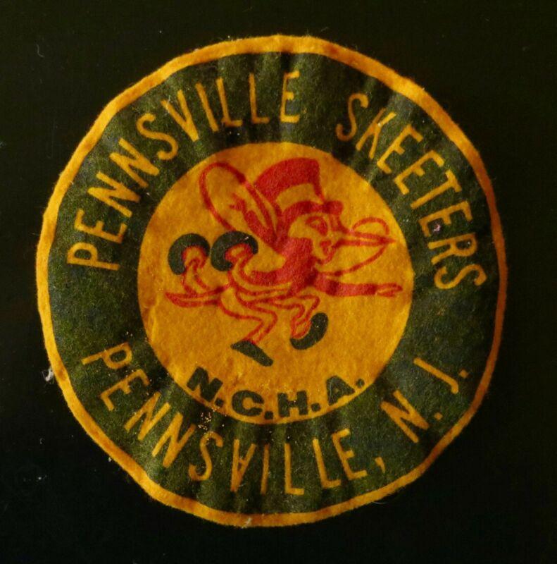Vintage Felt Patch Pennsville Skeeters, Pennsville, N.J. w/ Cute Mosquito!