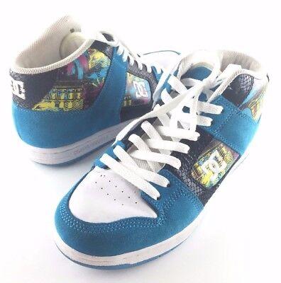 DC Shoes Womens Manteca 2 Neon Sneakers (Size 8) ***RARE VERSION*** Womens Manteca 2 Shoe