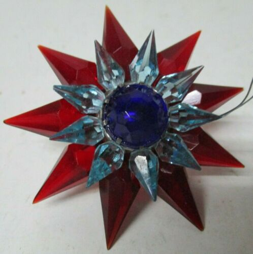 1930s C-6 Double MATCHLESS STAR Light - Red Blue Cobalt - 700 Size