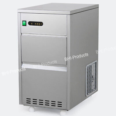 Ice Maker 60lbs24h Crystal Clear Restaurant Auto Portable Machine Commercial
