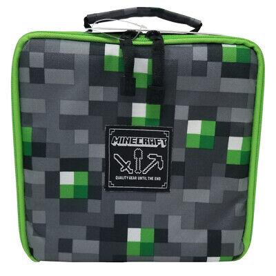 J!NX Minecraft Emerald Sword Lunch Box - Grey/Green