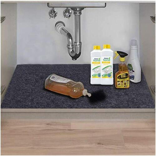 Under The Sink Mat,kitchen Tray Drip,cabinet Liner,fabric Layer,waterproof Layer