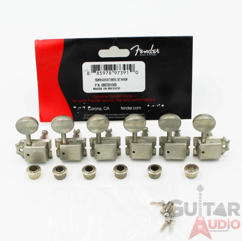 Genuine Fender ROAD WORN Relic Aged Vintage Strat/Tele Machine Head Tuners
