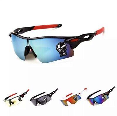 Men Women Cycling Glasses Outdoor Sport Mountain Bike Motorcycle Sunglasses UK