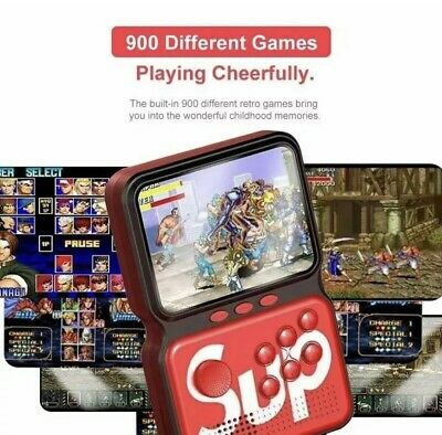 MINI CONSOLE VINTAGE RETRO' CLONE GAME BOY 900 VIDEOGIOCHI SUP M3 GAME BOX