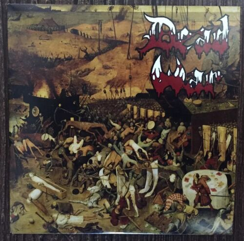 DEAD WAR! SIGNED EP-1ST PRESS CD. marduk deicide morbid angel venom death mayhem
