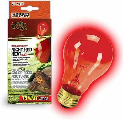 Zilla Incandescent Bulbs Night Red 75 W - $8.95