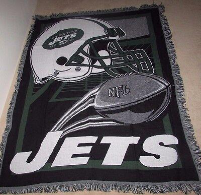(New York Jets Blanket Throw 48