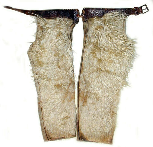 20% OFF New Mexico Cowboy RANCH WORN WOOLY CHAPS