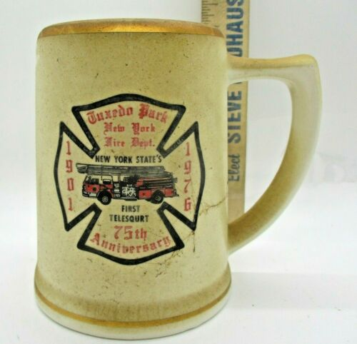 Tuxedo Park NY 1976 Fire Department Beer Stein