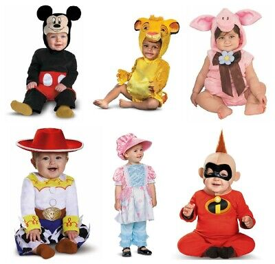 Boys & Girls Infants 6-12 Months Halloween Costumes NEW Jessie Pig Mickey & More