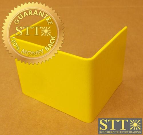 00252800da Newton Fiber Duct 4x4 Fitting Splice Yellow New
