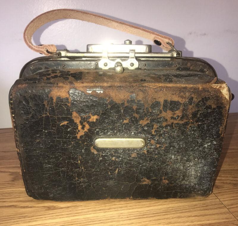 Antique Medical Pump Transfusion Irrigation Embalming Rare 1890's