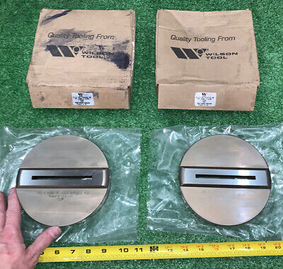 2 Qty New Bulk- Wilson Tool Diameter Punch Press Positive Die 4-12 Thk .250