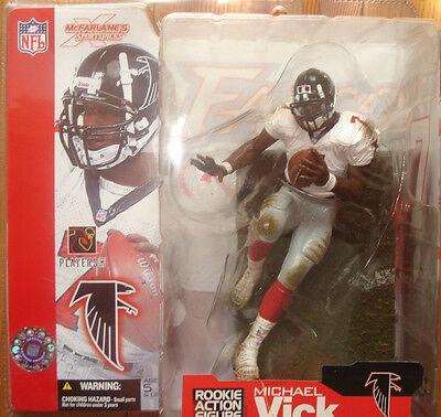 McFarlane's NFL Atlanta Falcons Michael Vick  Figur Series 4 Error
