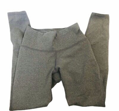 FABLETICS size XS gray high waisted powerheathered leggings pants New