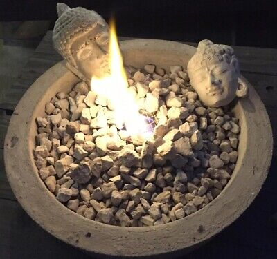 GARDEN / INDOORS BIOFUEL FIRE-PIT SIDE TABLE
