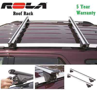 ROLA CROSS BARS REMOVABLE ROOF RACK 08-15 JEEP PATRIOT ALUMINUM 5YR MFG WARRANTY