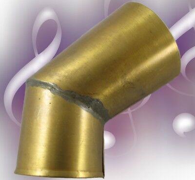 Grammophon Knickarmstück Messing brüniert Musik Box HIS MASTERS VOICE Ersatz 1