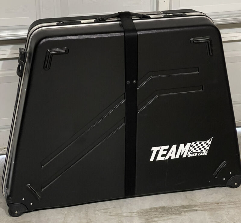 Performance Team Hard Shell Bike Case Transportation Cycling Luggage Bicycle