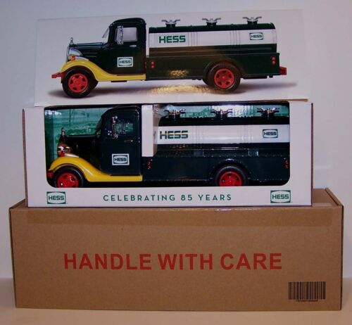 2018 Hess 85th Anniversary Toy Truck LIMITED + BONUSES