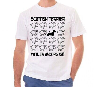 Scottish Terrier T-shirt (SCOTTISH TERRIER UNISEX T-SHIRT BLACK SHEEP by SIVIWONDER)