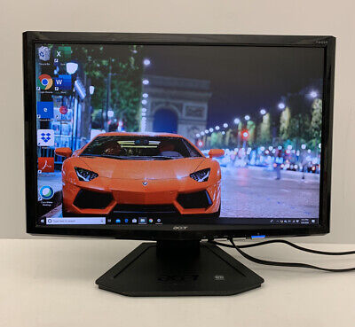 "Acer P221w 22"" Widescreen LCD Monitor 1680 x 1050 (with Stand and Cables)"