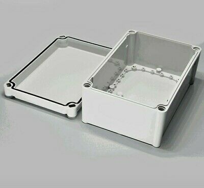 Electrical Junction Box - 9 34 X 6 X 4. Gray Abs. Weather Proof To Ip67.