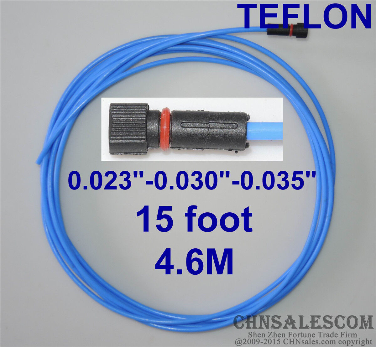 Details about PTFE Liner 15-ft MIG Welding Guns Wire Size  0 023