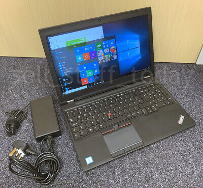 """Lenovo ThinkPad P50, i7-6820HQ, 8GB/256SSD, 15.6"""" IPS FHD, Quadro M1000M -S037/8"""