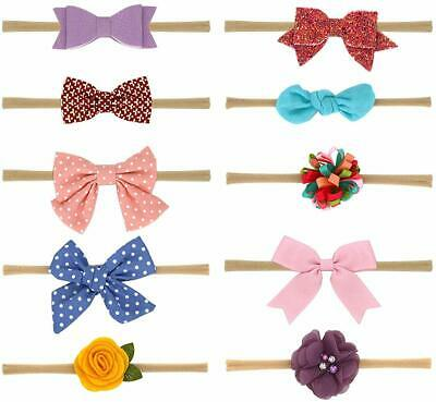 Baby Girl Headbands and Bows Best Hair Ties for Infants Toddler Hair