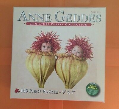 Anne Geddes Miniature Puzzle Collection - 100 Piece - Baby in flowers