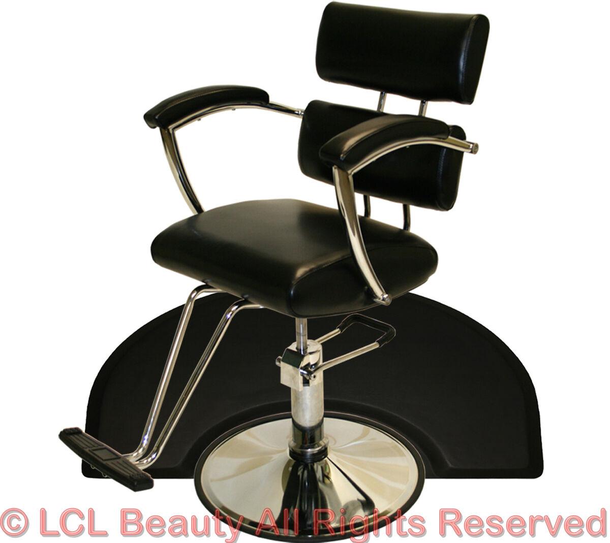 New Sturdy Chrome Hydraulic Barber Chair Styling Hair Mat Beauty Salon Equipment
