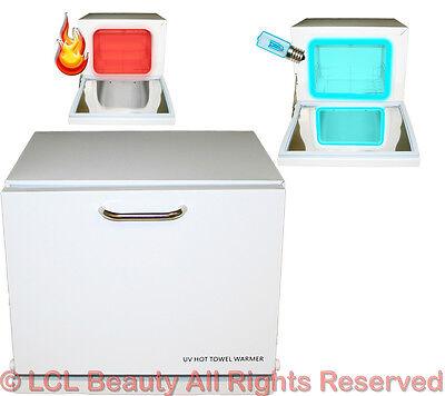 Mini Uv Hot Towel Warmer Cabinet Spa Sanitizer Sterilizer...
