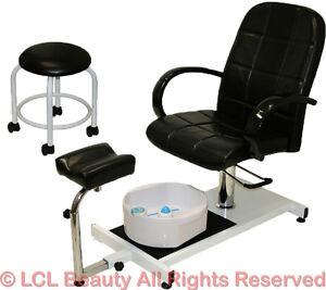 Pedicure Unit Station Hydraulic Chair U0026 Massage Foot Spa Beauty Salon  Equipment